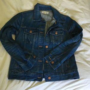 EUC Madewell medium blue denim jacket